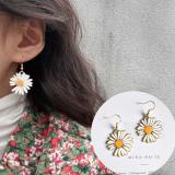 韩国小雏菊少女可爱甜美耳环